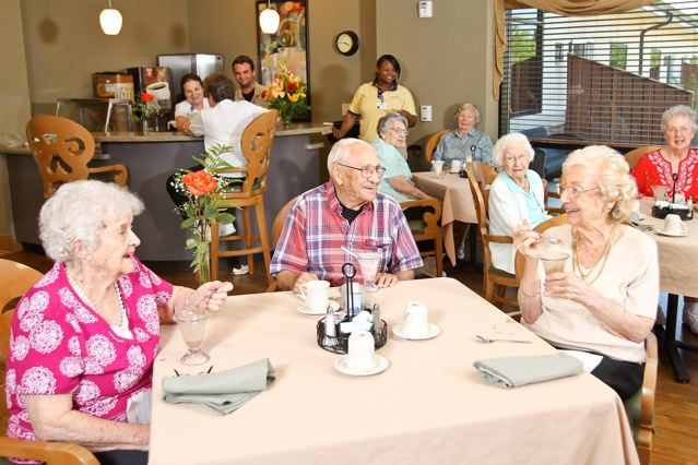 assisted living charless village