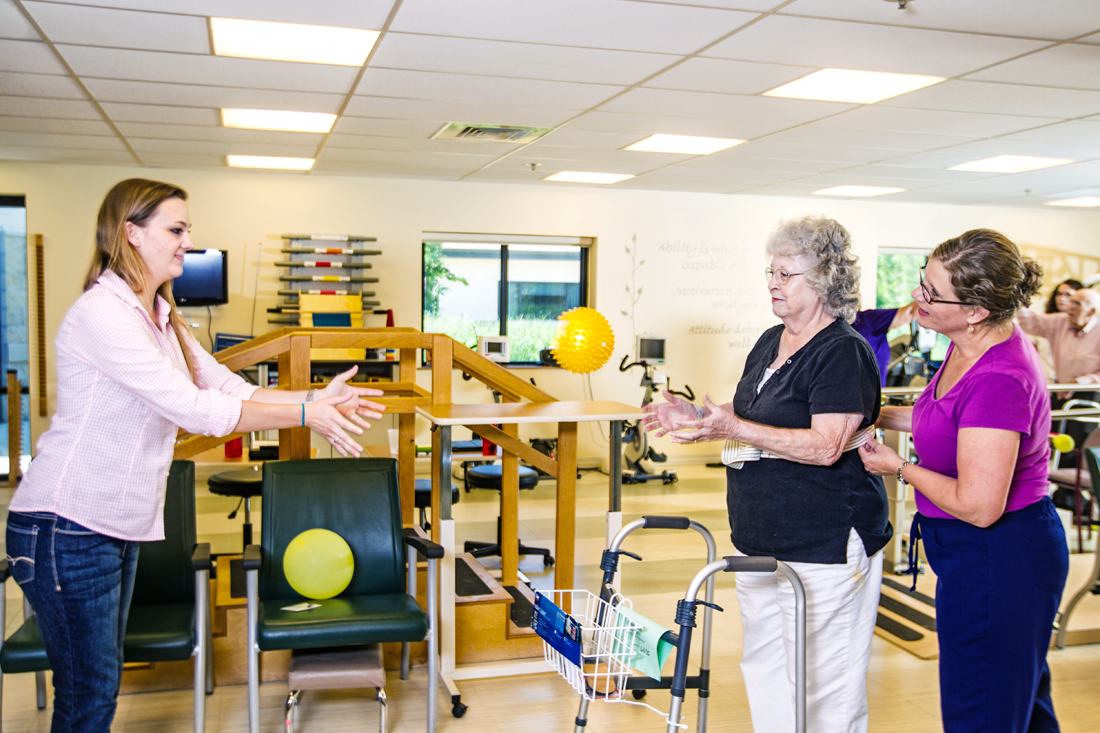 rehab and therapy service at Bethesda Southgate in South St. Louis County