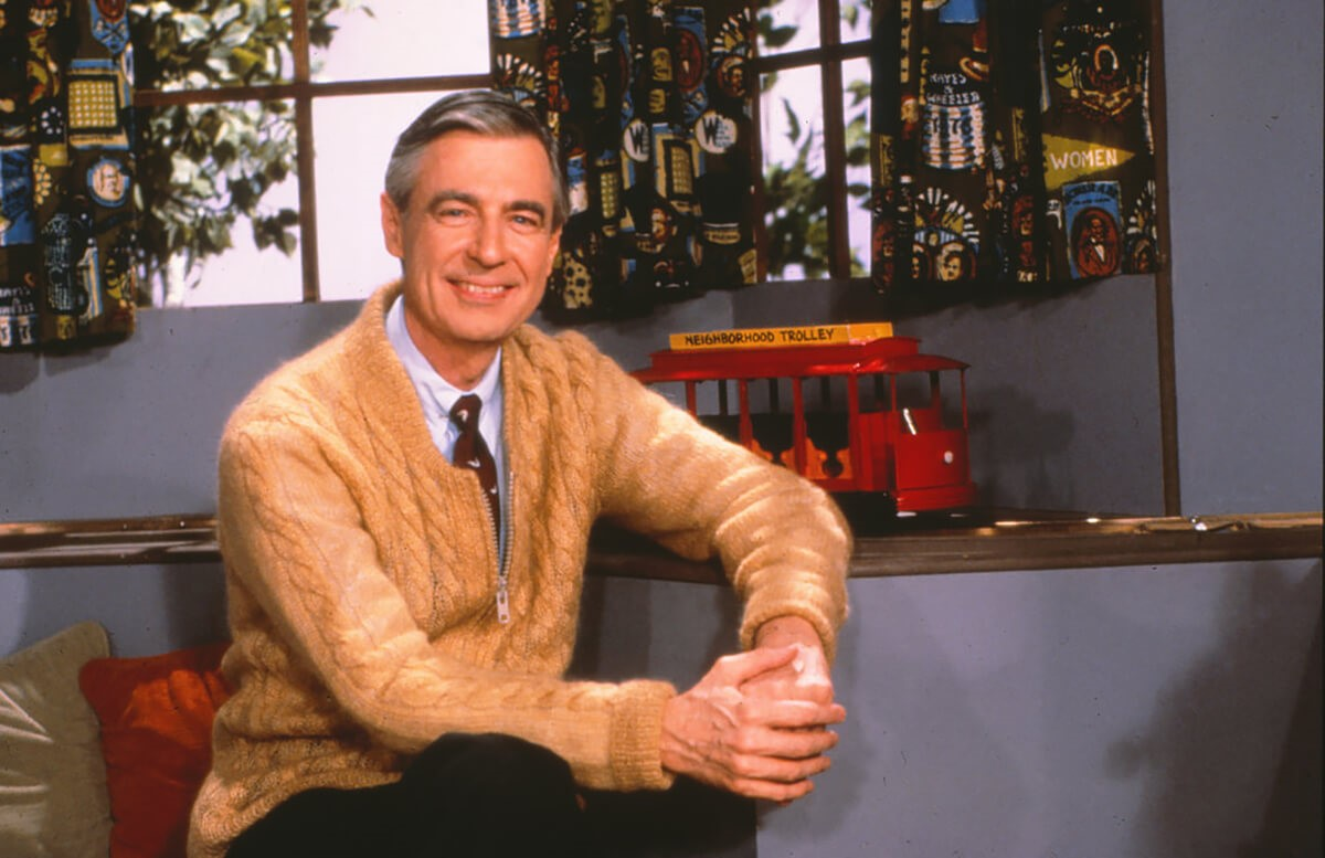 Mister Rogers Neighborhood is celebrating its 50th anniversary this year, but there are still lessons that children, adults, and seniors can learn from Mister Rogers today. Photo credit: PBS Press Room