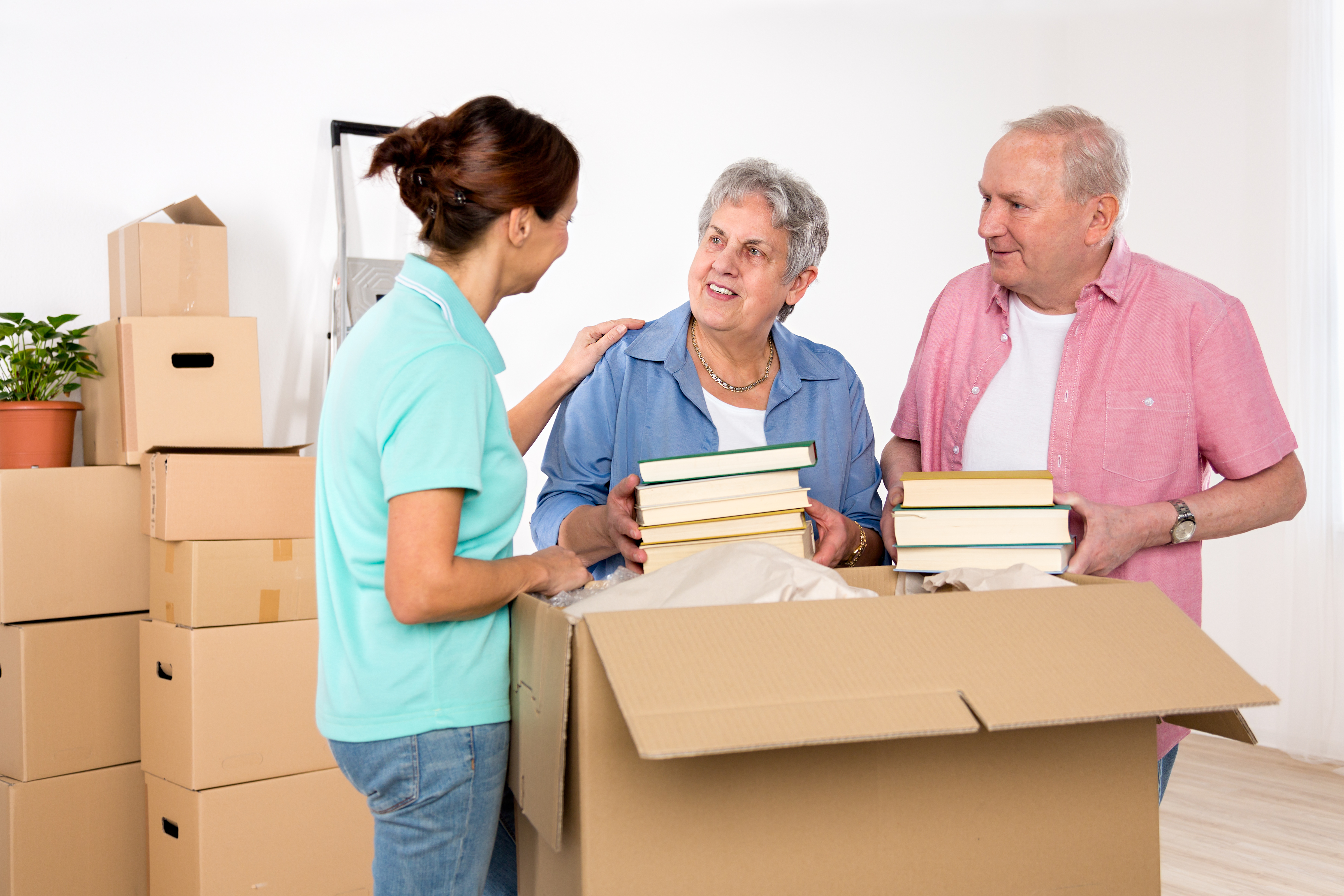 Seniors are susceptible to Relocation Stress Syndrome when moving from a family home into a senior living community.