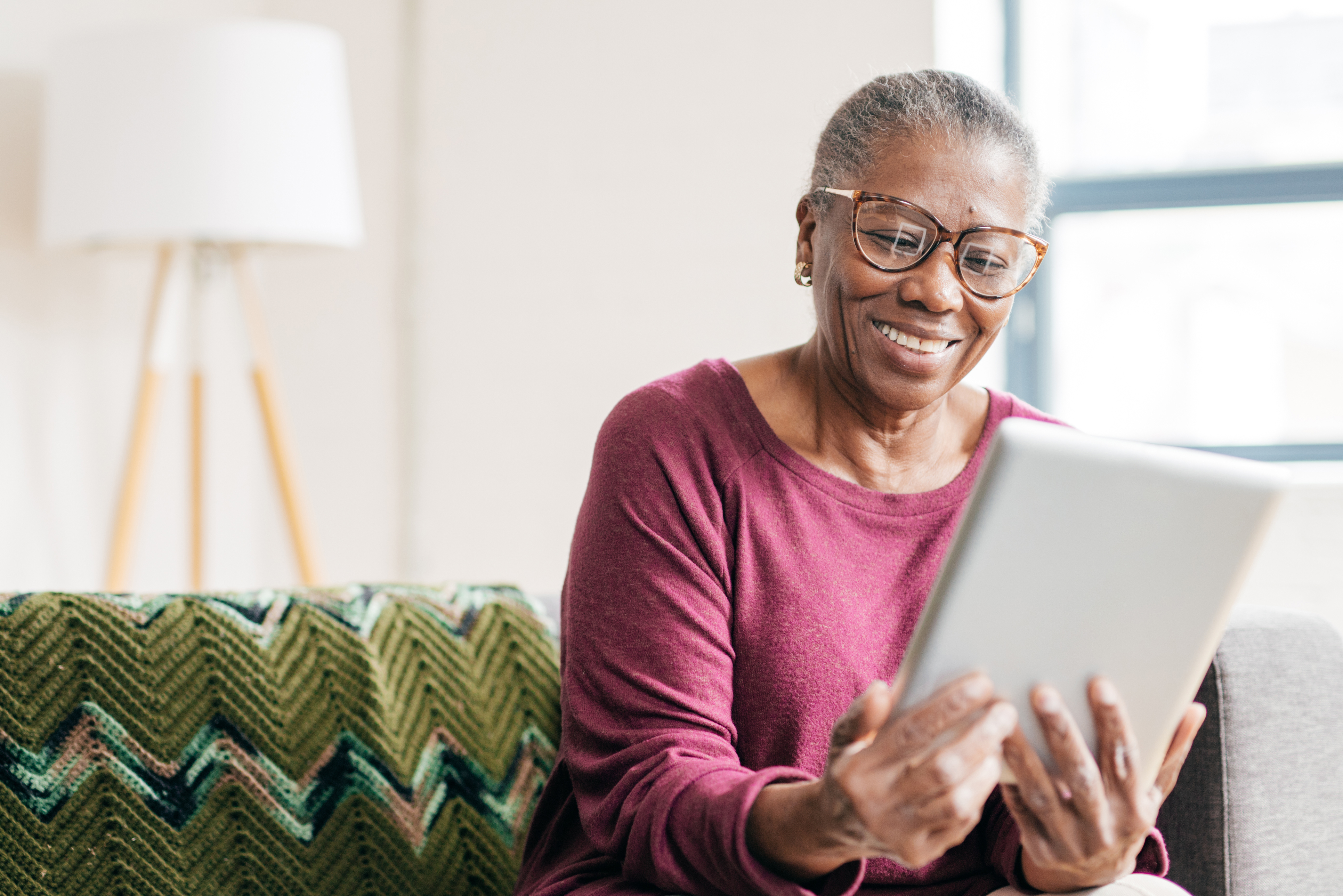 Technology gifts for senior adults can really improve their quality of life