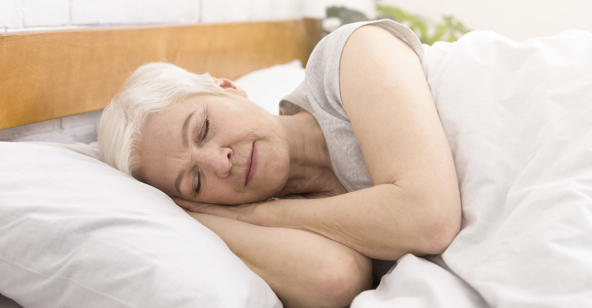 High quality sleep for seniors can lead to a longer and healthier life