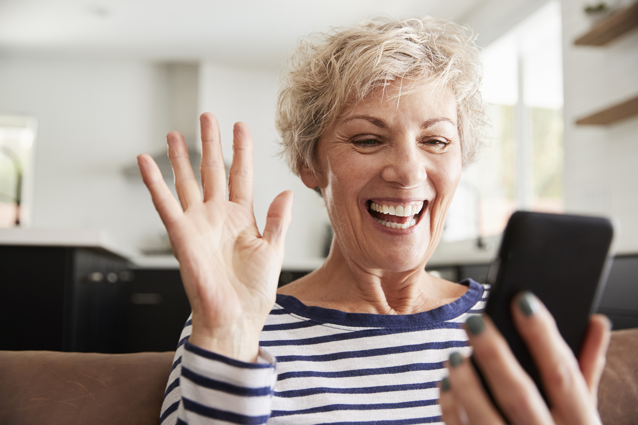 Teach your senior how to properly use their phone and take advantage of the many benefits
