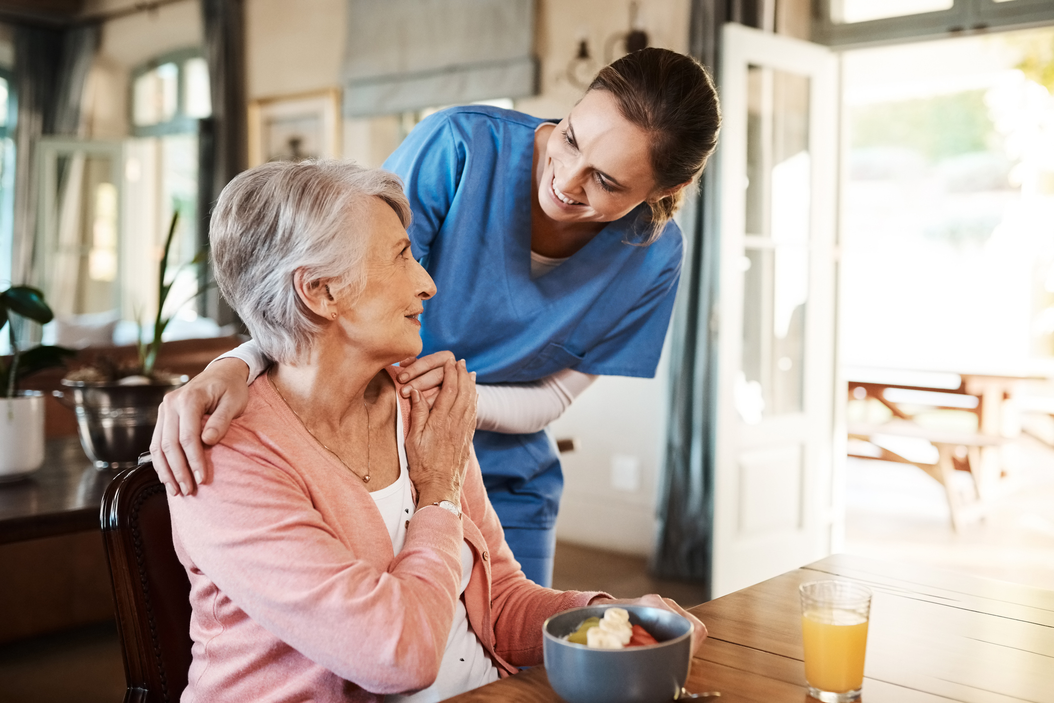 Eating healthy for seniors can be made easier
