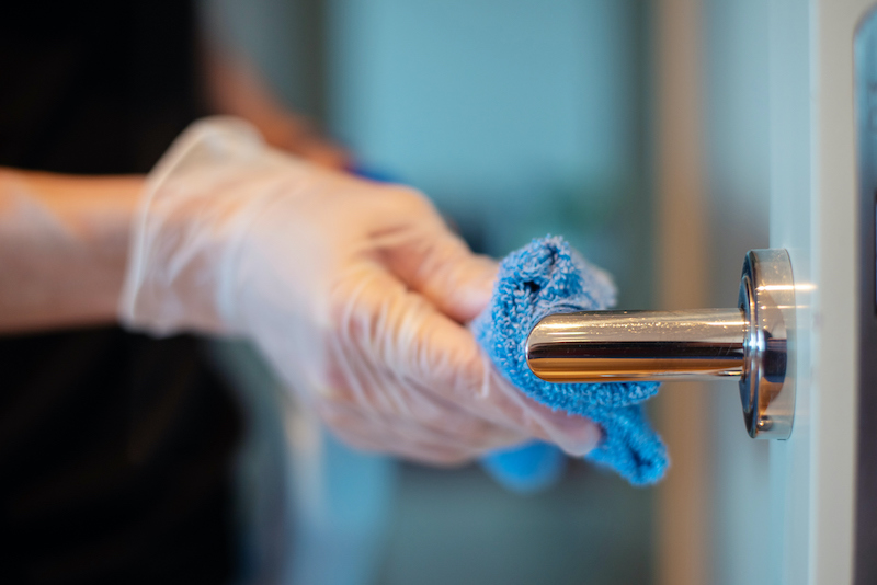 Proper COVID-19 disinfection, what's the difference between cleaning and disinfecting?
